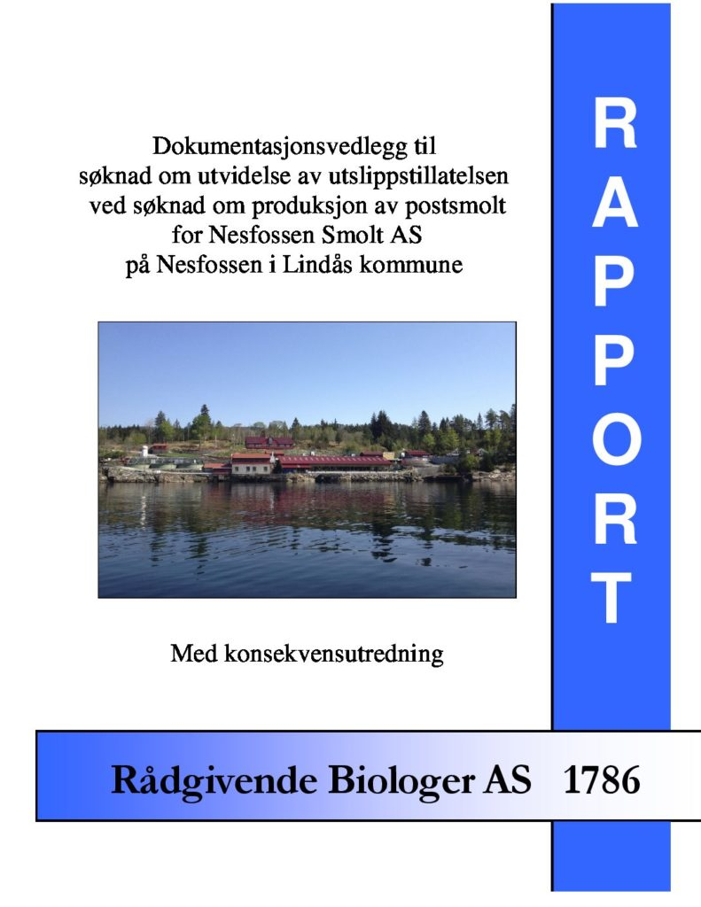 Rapport cover - rapport 1786