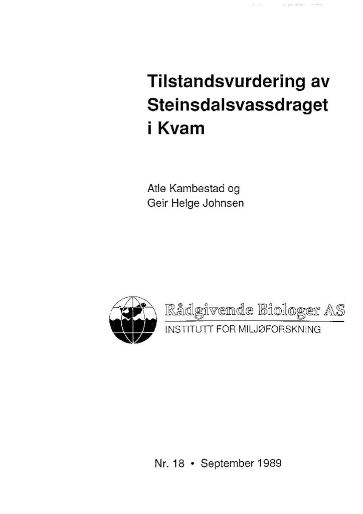 Rapport cover - rapport 18