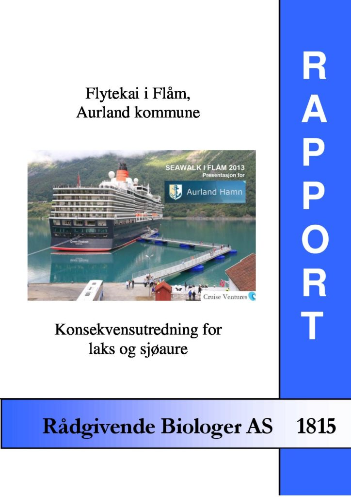 Rapport cover - rapport 1815