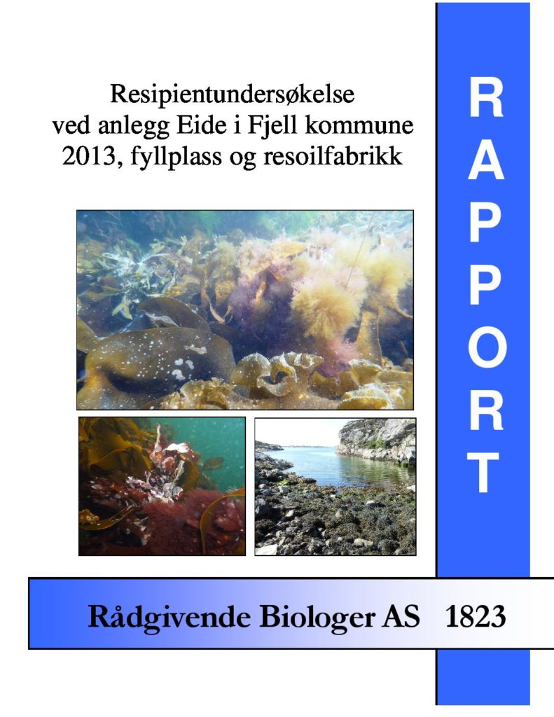 Rapport cover - rapport 1823