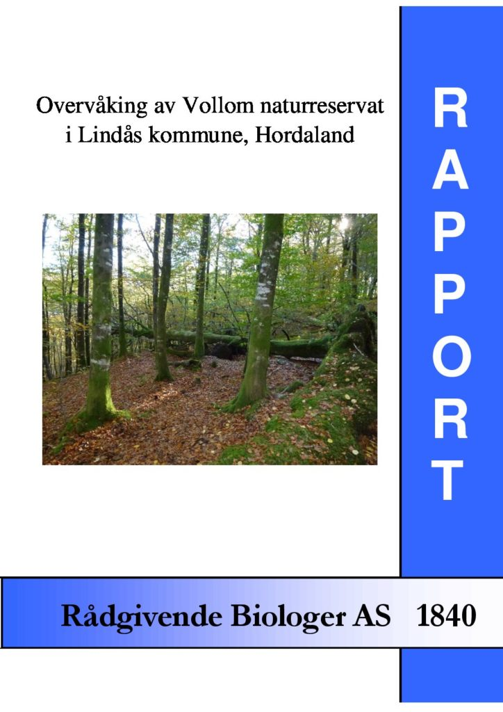 Rapport cover - rapport 1840