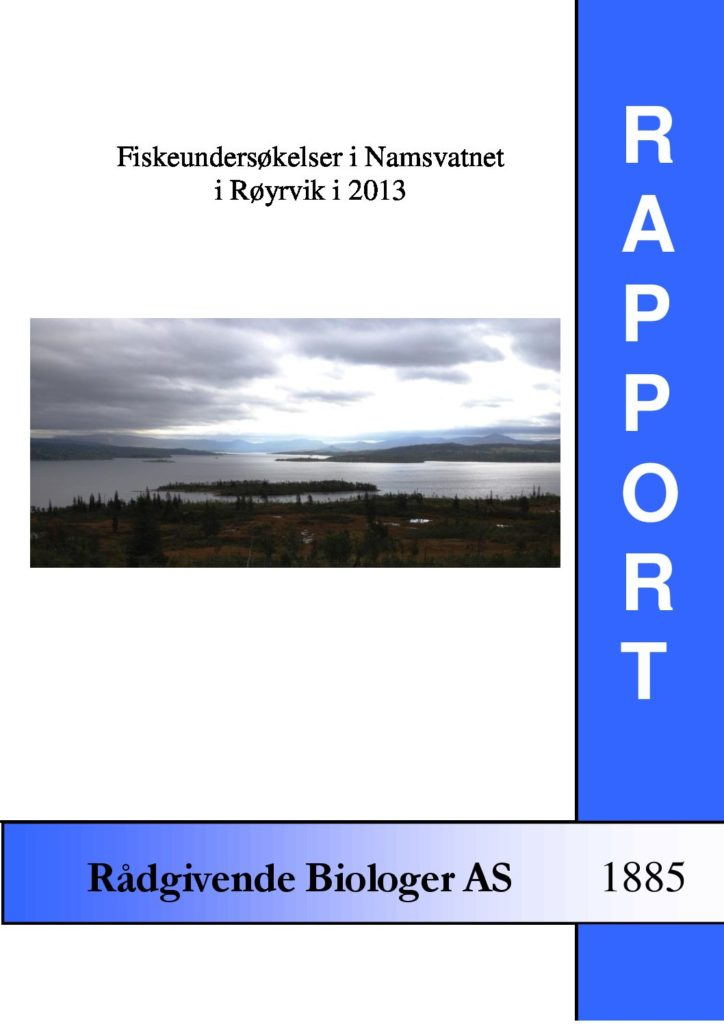 Rapport cover - rapport 1885