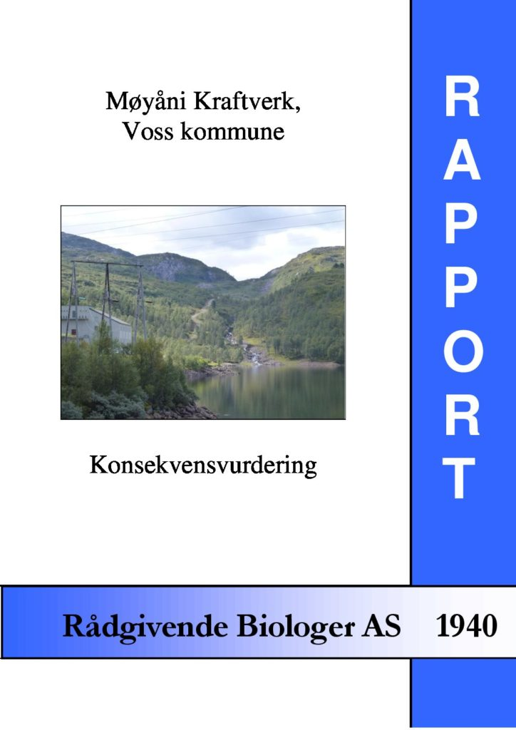 Rapport cover - rapport 1940