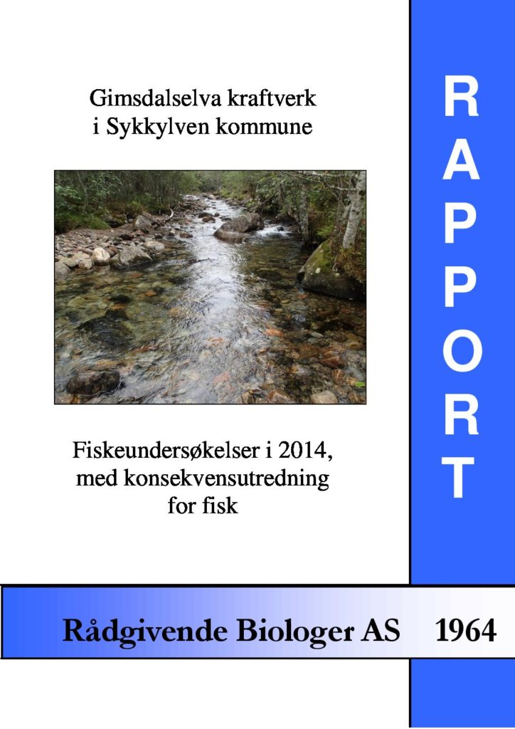 Rapport cover - rapport 1964