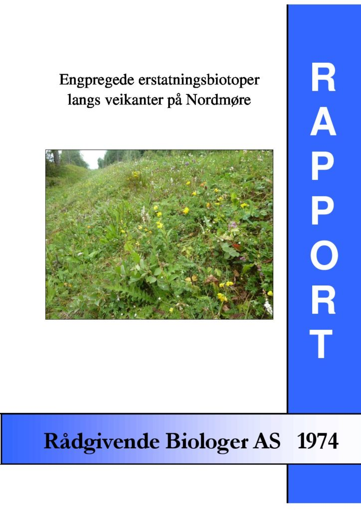 Rapport cover - rapport 1974