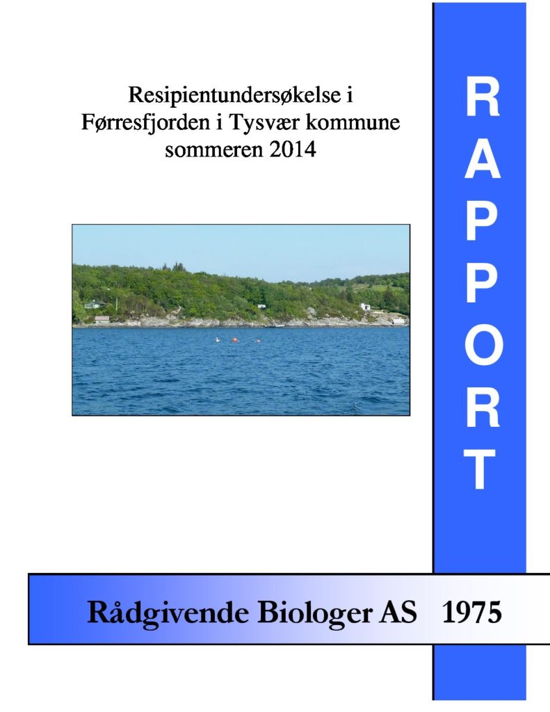 Rapport cover - rapport 1975
