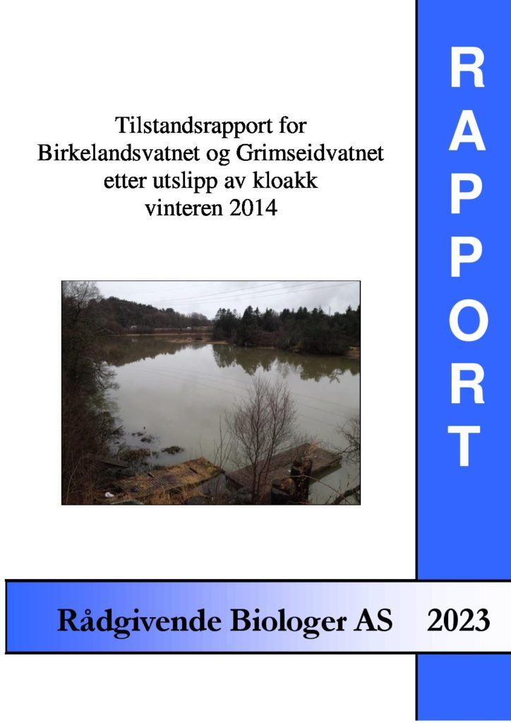 Rapport cover - rapport 2023