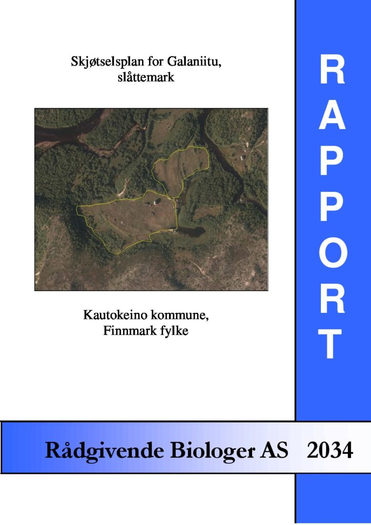 Rapport cover - rapport 2034