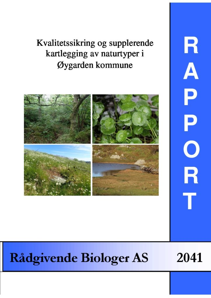 Rapport cover - rapport 2041