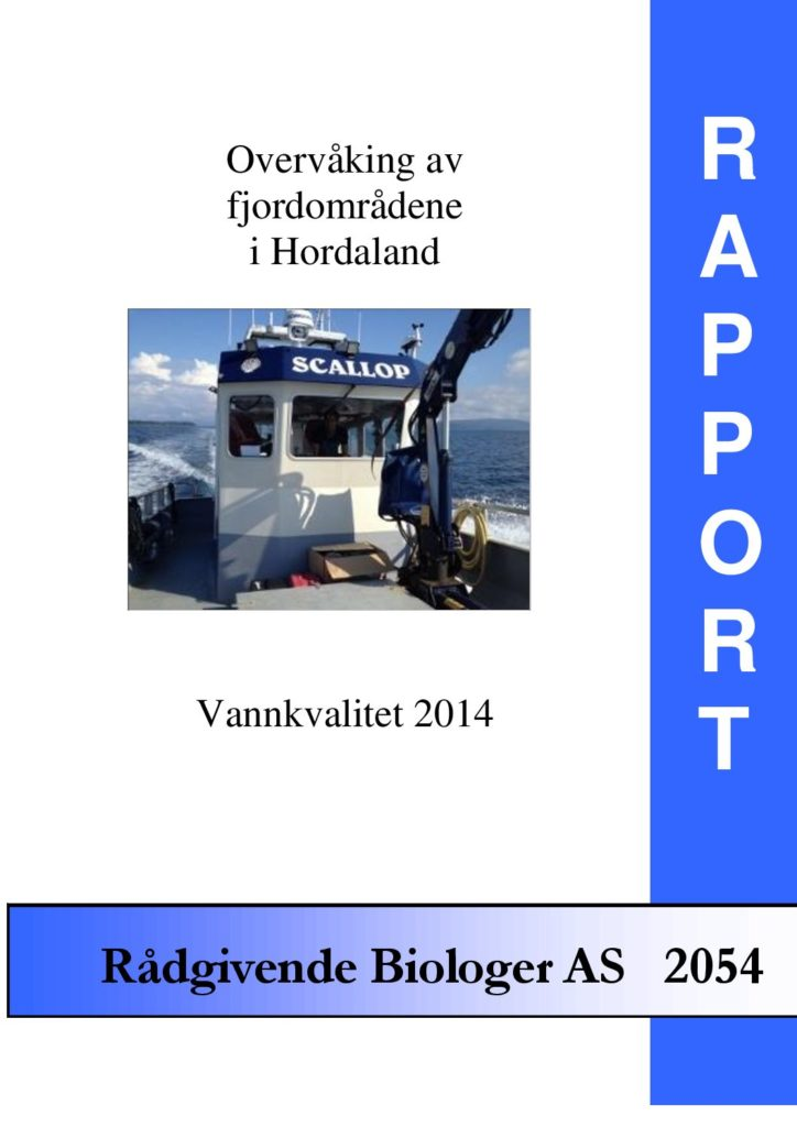 Rapport cover - rapport 2054