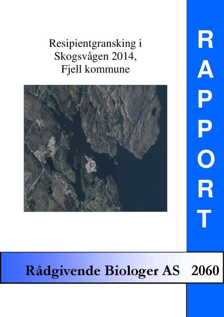 Rapport cover - rapport 2060