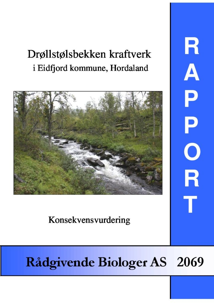 Rapport cover - rapport 2069