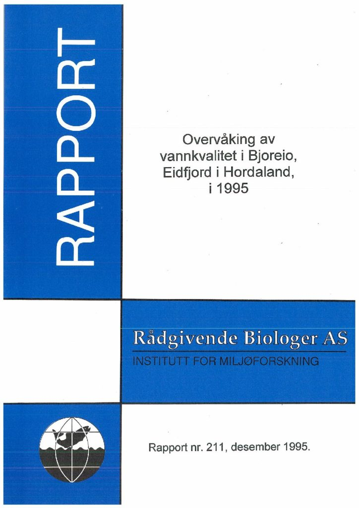 Rapport cover - rapport 211