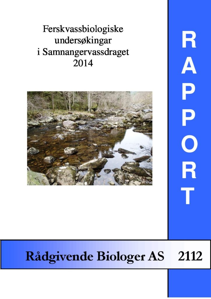 Rapport cover - rapport 2112