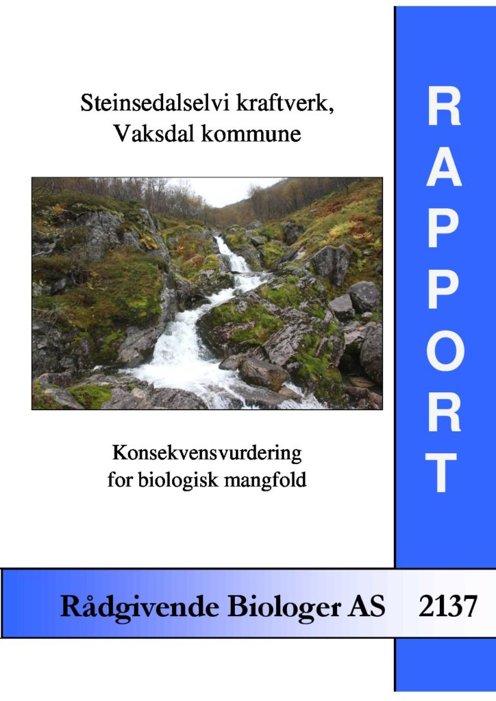 Rapport cover - rapport 2137