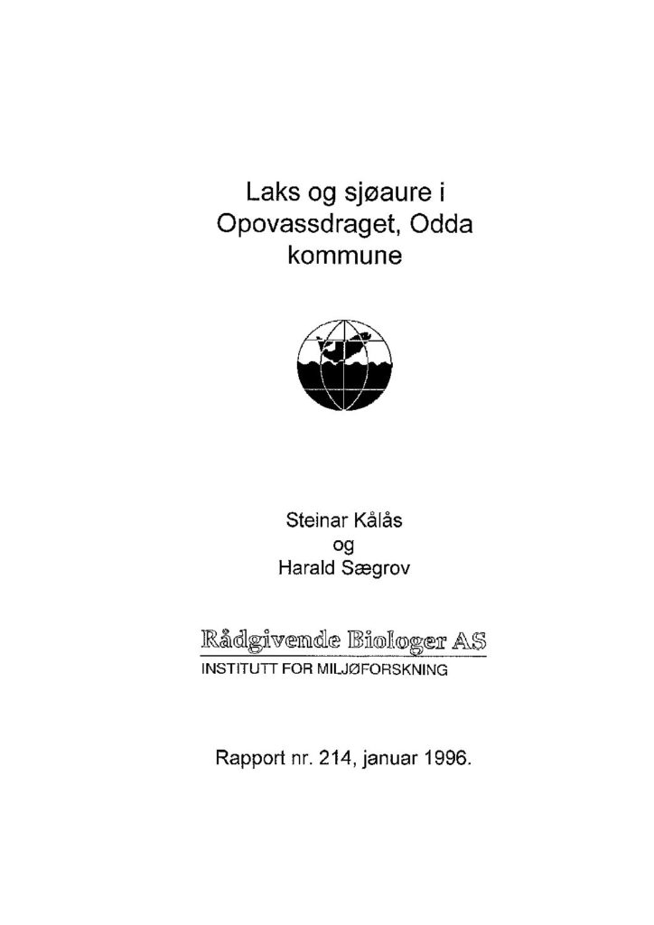 Rapport cover - rapport 214
