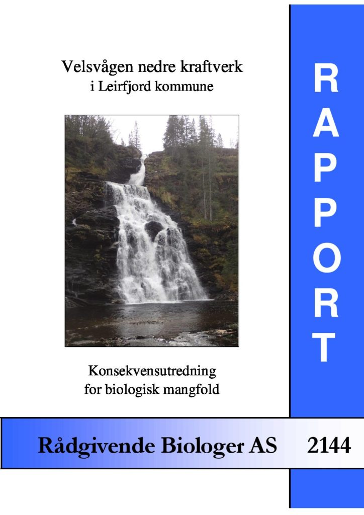Rapport cover - rapport 2144