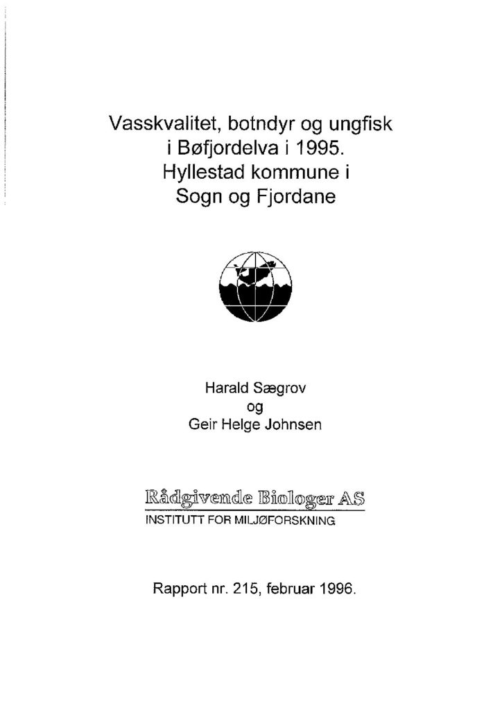Rapport cover - rapport 215