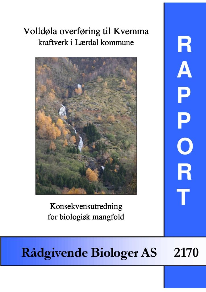 Rapport cover - rapport 2170