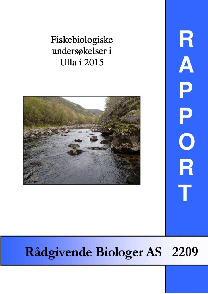 Rapport cover - rapport 2209
