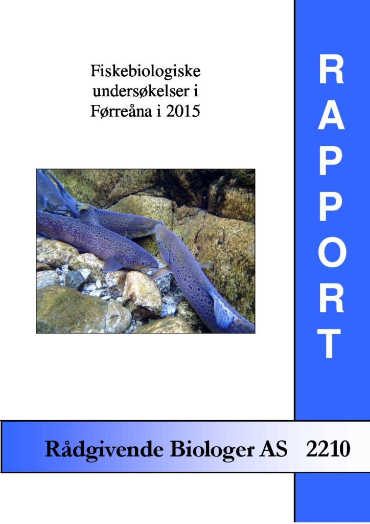Rapport cover - rapport 2210