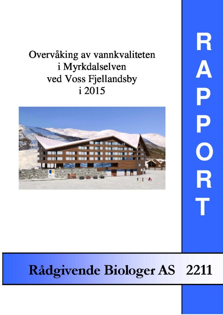 Rapport cover - rapport 2211