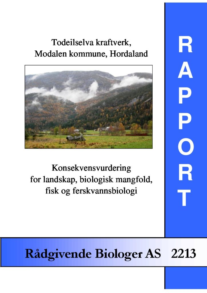 Rapport cover - rapport 2213