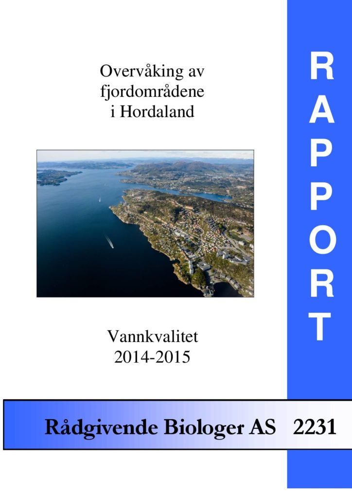 Rapport cover - rapport 2231