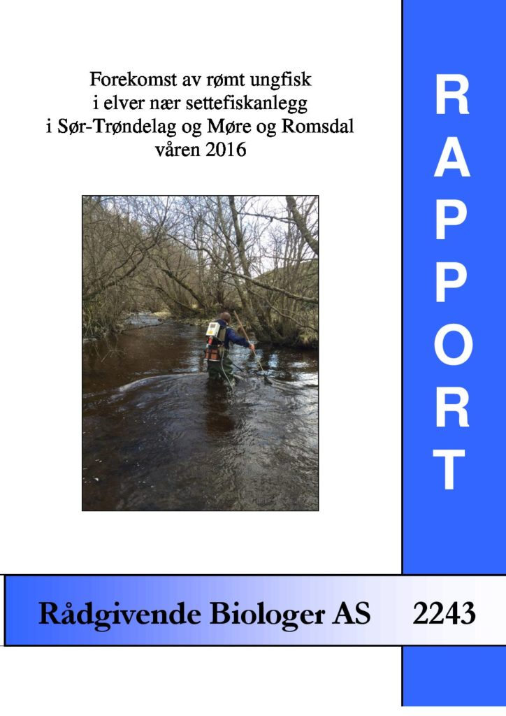Rapport cover - rapport 2243