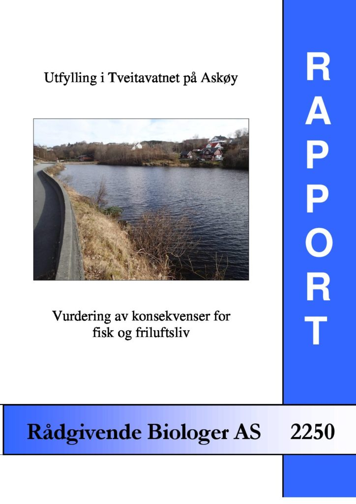 Rapport cover - rapport 2250