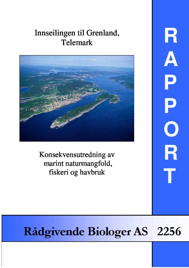 Rapport cover - rapport 2256
