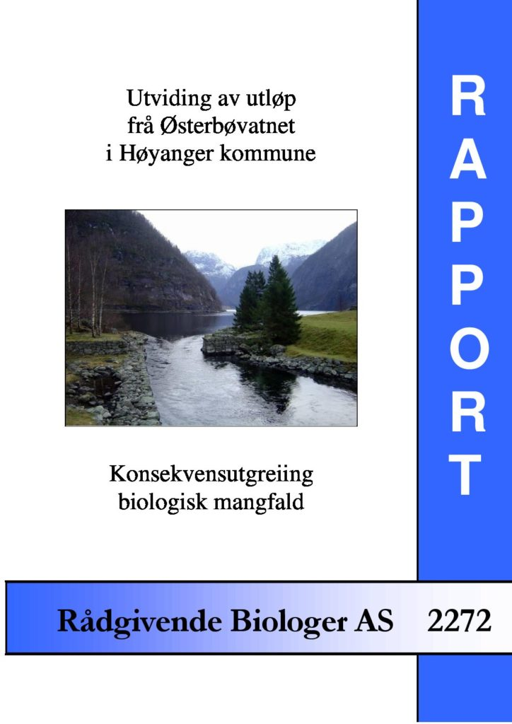 Rapport cover - rapport 2272