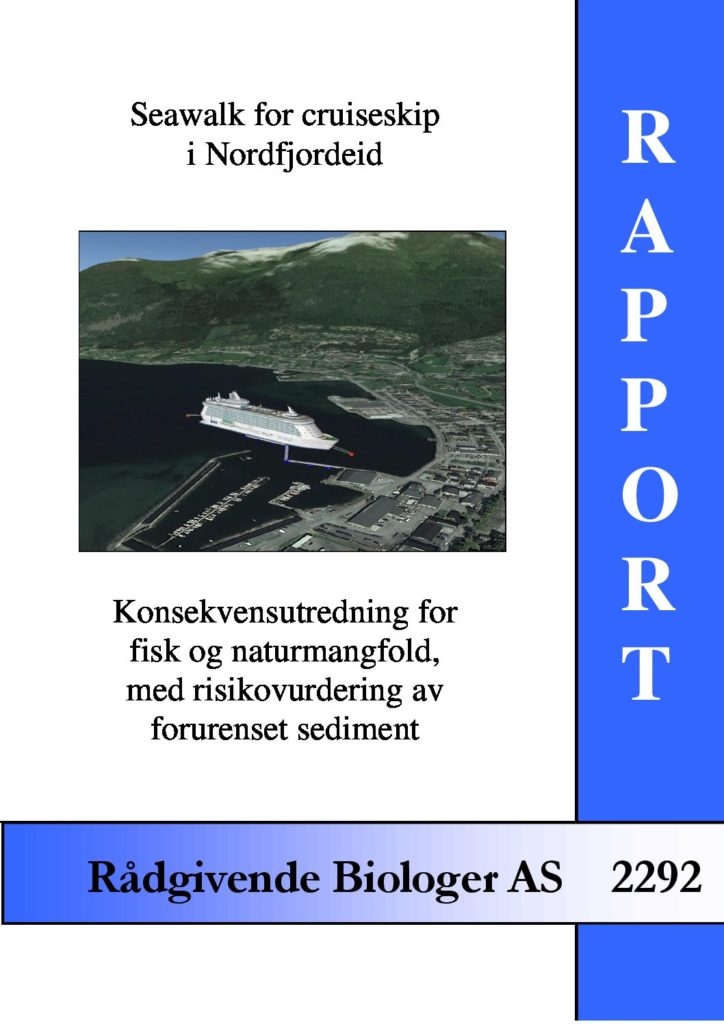 Rapport cover - rapport 2292