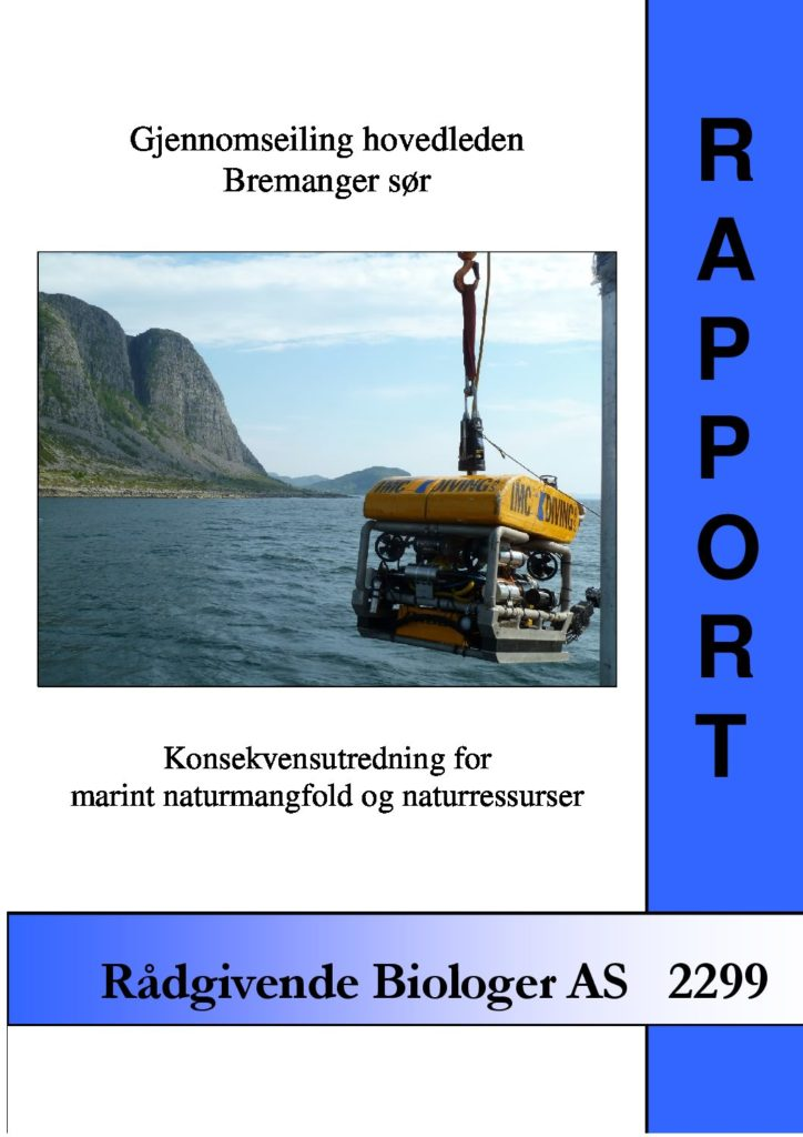 Rapport cover - rapport 2299