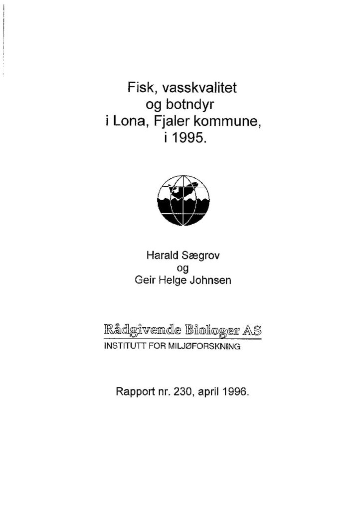 Rapport cover - rapport 230