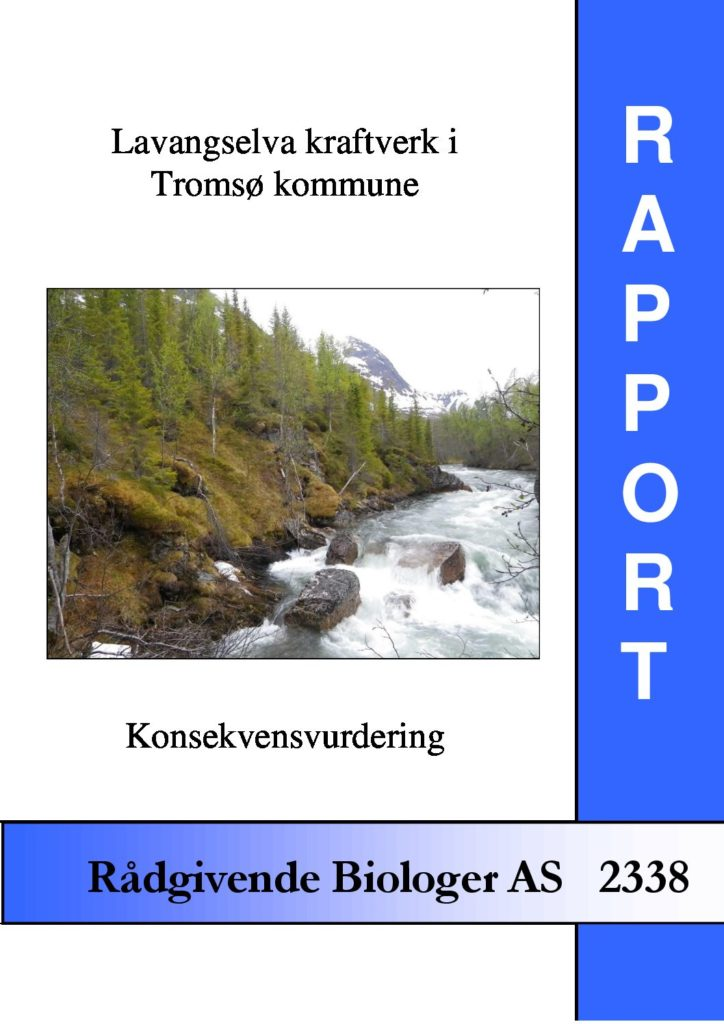 Rapport cover - rapport 2338