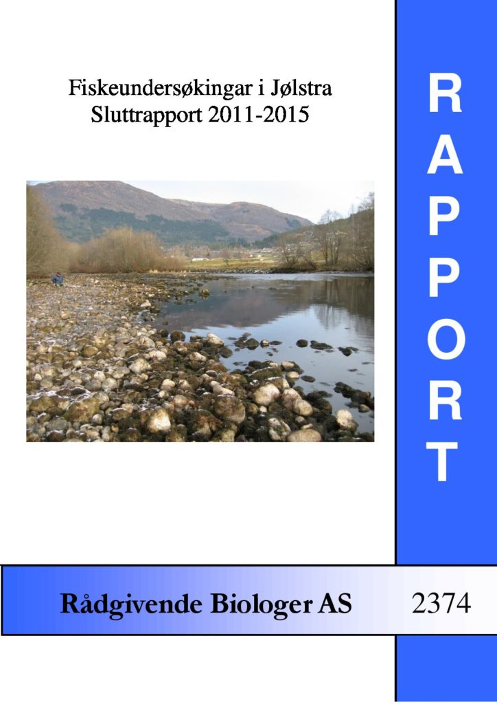 Rapport cover - rapport 2374