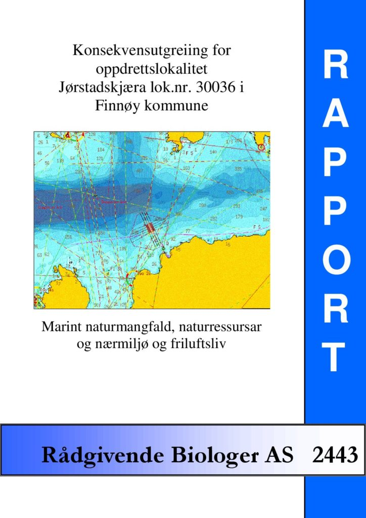 Rapport cover - rapport 2443
