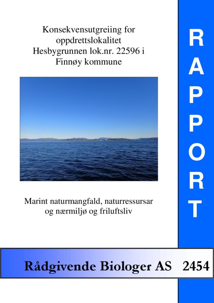 Rapport cover - rapport 2454