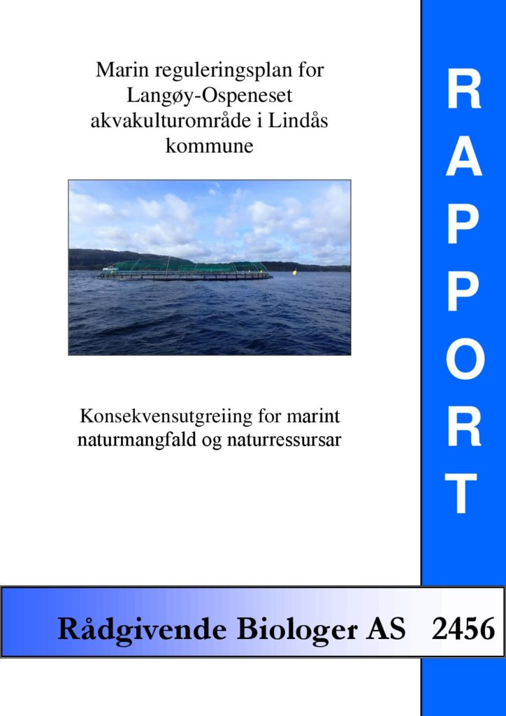 Rapport cover - rapport 2456