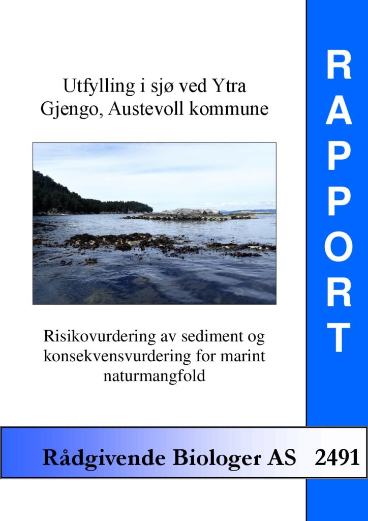 Rapport cover - rapport 2491