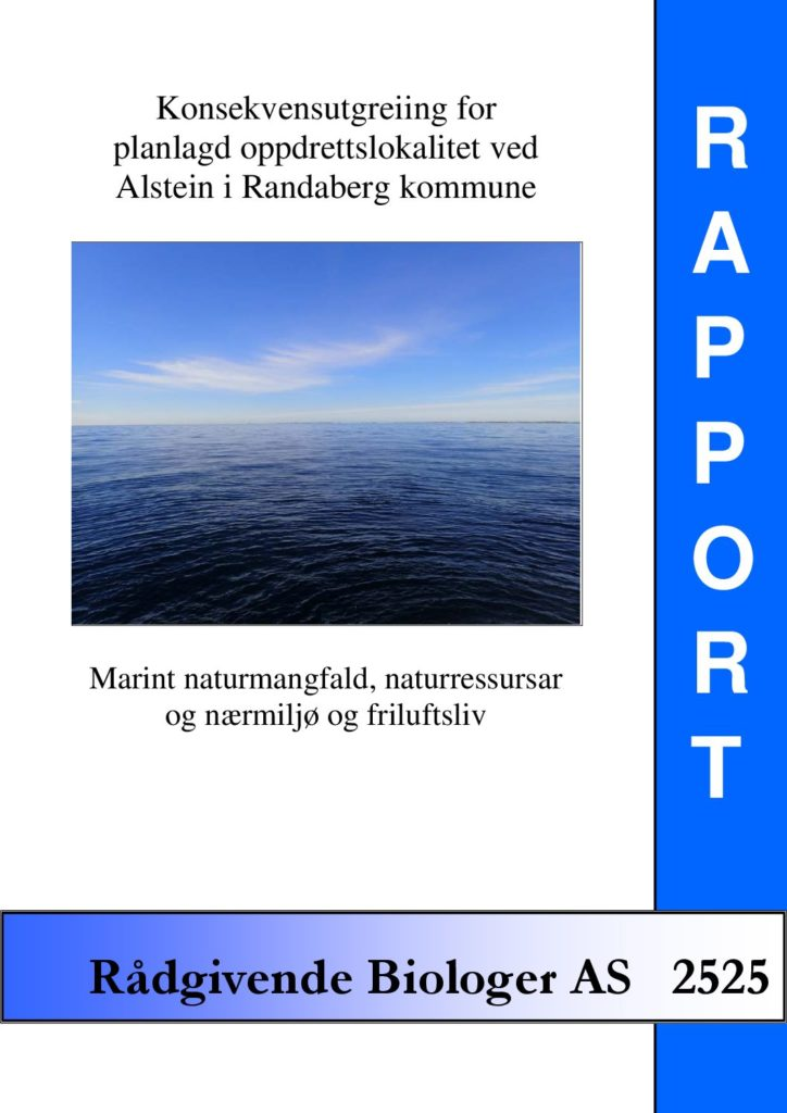 Rapport cover - rapport 2525