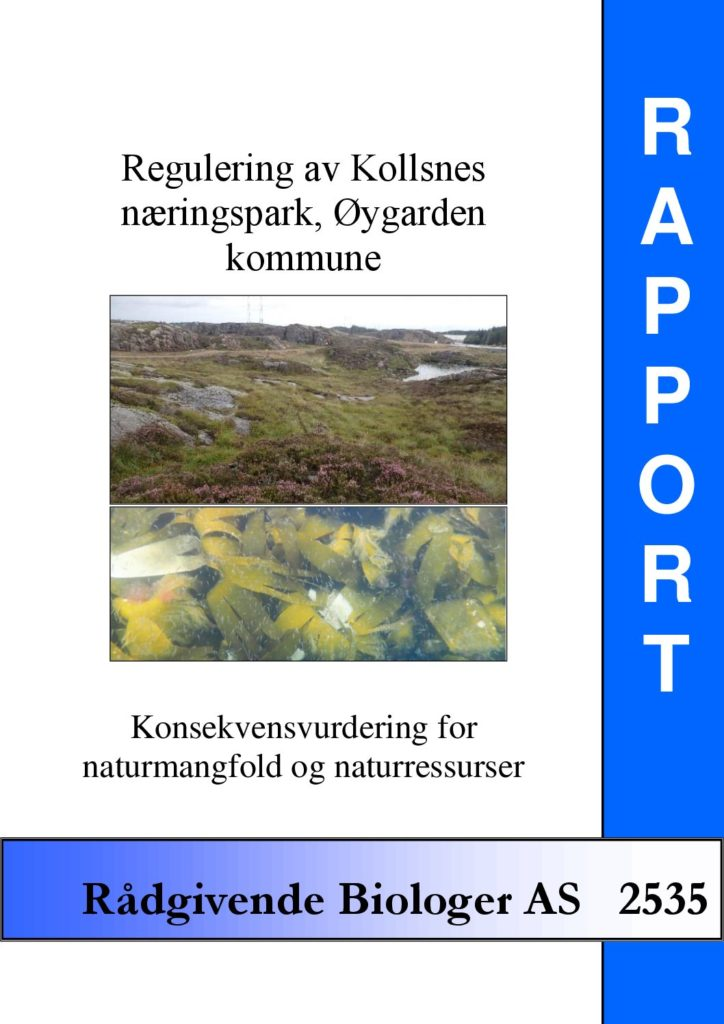 Rapport cover - rapport 2535