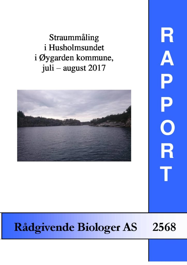 Rapport cover - rapport 2568
