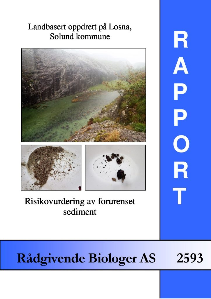 Rapport cover - rapport 2593