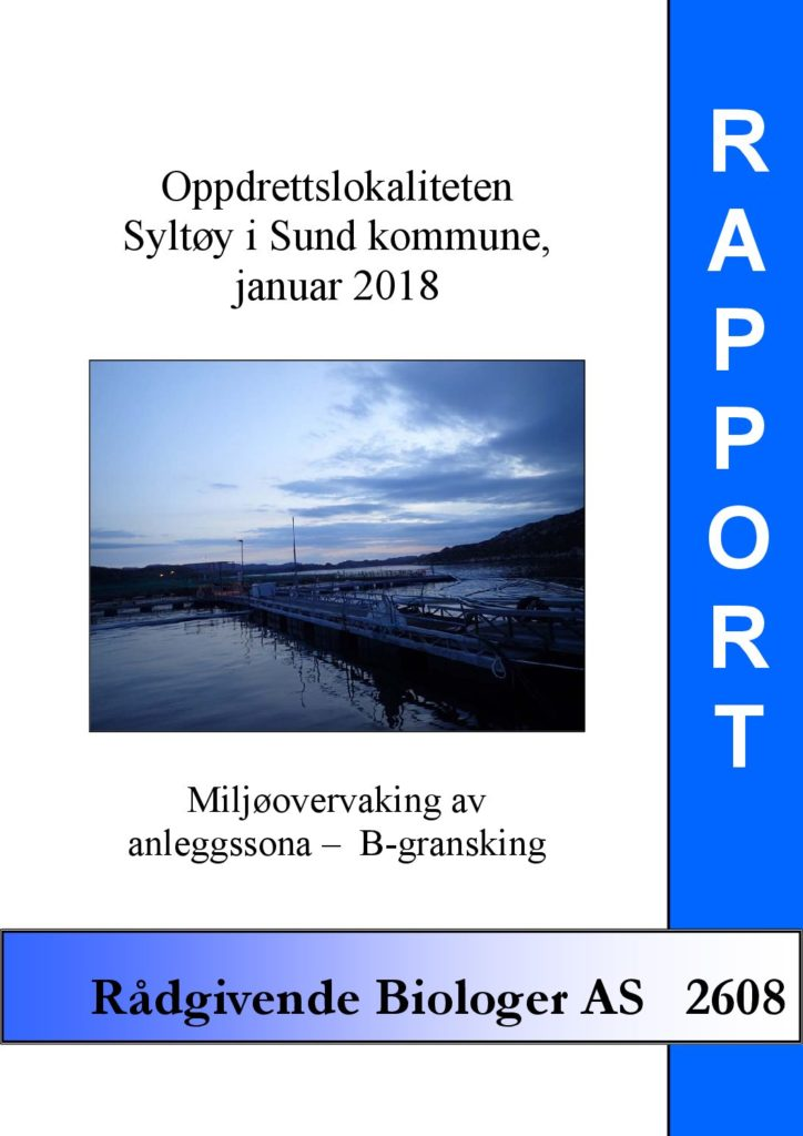 Rapport cover - rapport 2608