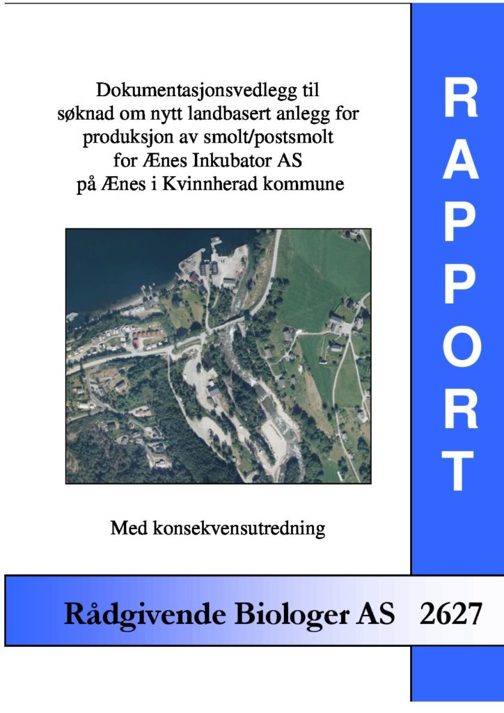 Rapport cover - rapport 2627