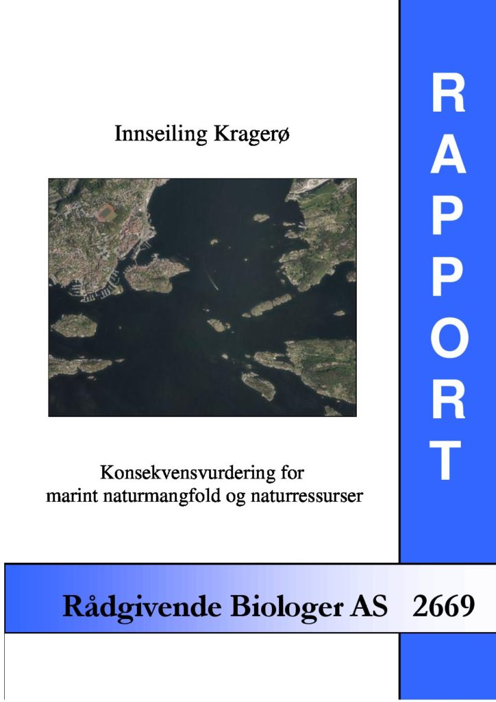 Rapport cover - rapport 2669