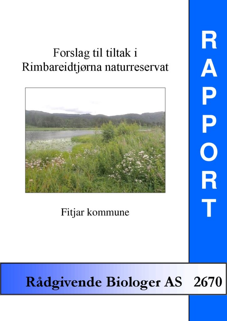 Rapport cover - rapport 2670
