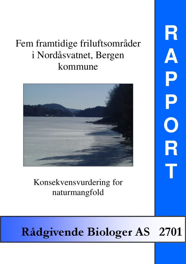 Rapport cover - rapport 2701
